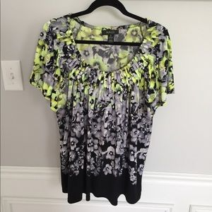 Style & co. Short sleeve blouse: size 2X